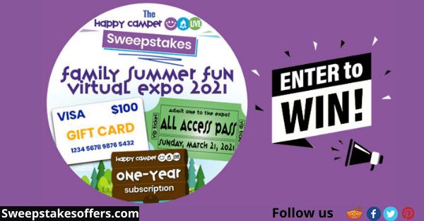Family Summer Fun Virtual Expo 2021 Sweepstakes