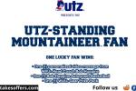 Utz Standing Mountaineer Fan Sweepstakes