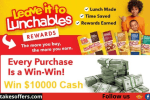 Leave it to Lunchables Rewards Sweepstakes