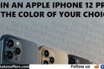 Honeberry Free iPhone 12 Pro Giveaway