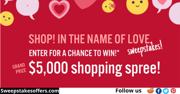 Rogers & Hollands Shop in the Name of Love Sweepstakes