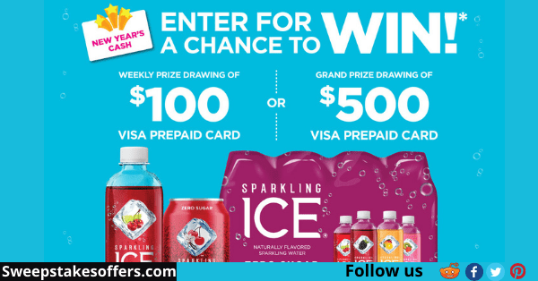 Sparkling Ice New Year Sweepstakes