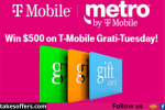 T-Mobile GratiTuesday Sweepstakes