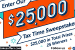 Netspend Tax Time Sweepstakes