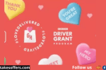 Grubhub Love Delivered Valentine's Day Sweepstakes