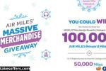 Air Miles Massive Merchandise Giveaway