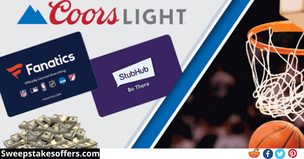 Coors Light March Hoops Northeast Sweepstakes