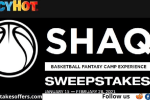 Icy Hot Shaq Fantasy Experience Sweepstakes