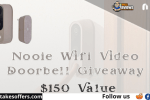 Nooie Wifi Video Doorbell Giveaway