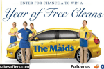 The Maids Free Cleans for a Year Sweepstakes