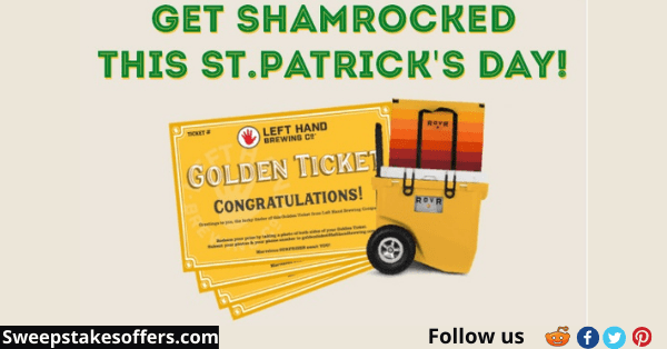 The Left Hand Brewing Get Shamrocked Sweepstakes