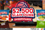 Tasty Rewards Slam Dunk $2500 Sweepstakes