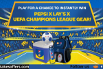 Pepsi X Lays Uefa Champions League Sweepstakes