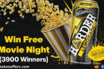 Mikes Harder Movie Night Sweepstakes