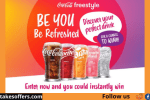 Coca-Cola Freestyle Be You Be Refreshed Instant Win