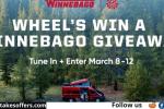 Wheel of Fortune Winnebago Giveaway