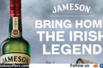 Jameson Irish Whiskey Home Entertainment Sweepstakes