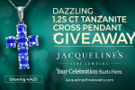 Tanzanite Cross Giveaway