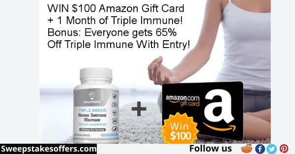 SmartHabits $100 Amazon Gift Card Giveaway