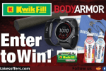 Kwik Fill BODYARMOR Spring into Fitness Giveaway