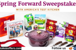 America's Test Kitchen Cookware Sweepstakes