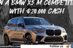 Omaze BMW X5M Sweepstakes