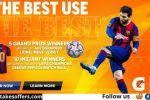 UEFA Champions League 2021 Gatorade Sweepstakes