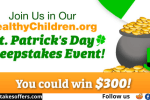 Healthy Children St Patrick's Day Giveaway