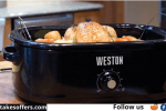 Weston 18 Quart Electric Roaster Oven Giveaway