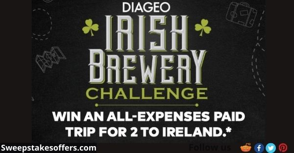 Guinness Dublin Brewery Sweepstakes
