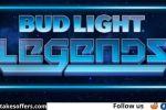 Bud Light Legends Streak For The Beer Contest
