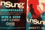 TV One Unsung Sweepstakes