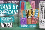 Monster Energy Ultra Stand By Your Can Sweepstakes
