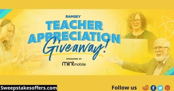Ramsey Education Teacher Appreciation Giveaway