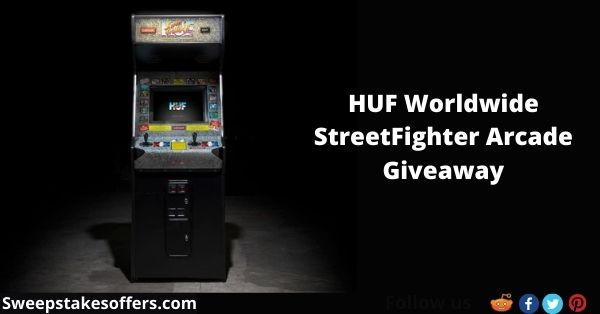 HUF Worldwide StreetFighter Arcade Giveaway