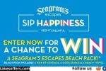SeagramsEscapes Spring Break Beach Pack Sweepstakes