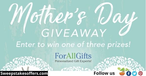 ForAllGifts Mother's Day Gift Giveaway
