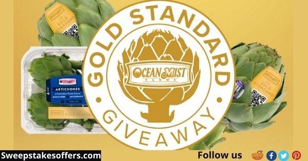 Ocean Mist Farms Gold Standard Giveaway