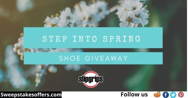 SlipGrips Step into Spring Giveaway