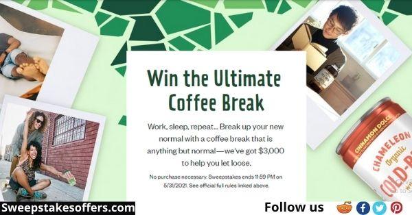 Chameleon Ultimate Coffee Break Sweepstakes
