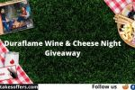 Duraflame Wine & Cheese Night Giveaway