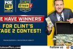 Fox Super 6 NASCAR Clint Stage 2 Contest