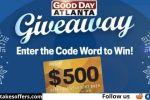 Fox 5 Good Day Atlanta Giveaway