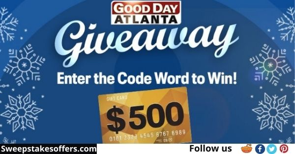 Fox 5 Good Day Atlanta Giveaway
