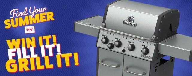 CO-OP Win it Fill it Grill it Contest