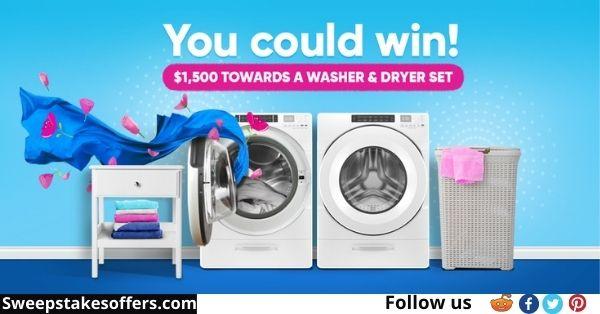 Ensueno Washer & Dryer Sweepstakes
