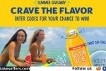 Vita Ice Crave the Flavor Sweepstakes