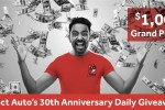 Direct Auto Insurance 30th Anniversary Giveaway