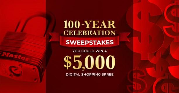 Master Lock 100 Year Celebration Contest