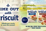 PrizeLogic Time Out With Triscuit Sweepstakes